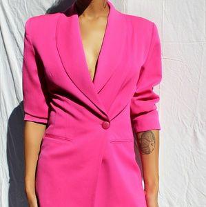 Jackets & Blazers - Pink blazer dress